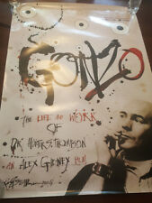 Gonzo: The Life and Work of Dr. Hunter S. Thompson Movie Poster (27 x 40)