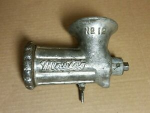 RARE MAYTAG Meat GRINDER #12 ATTACHEMENT For Vintage Gas WRINGER Washer