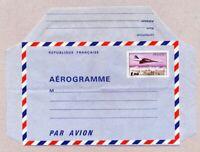 TIMBRES DE FRANCE 1977 / 1980   AEROGRAMME CONCORDE YV N° 1005 AER NEUF