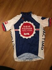 Pactimo 2012 Wisconsin Triple Crown Mens Cycling Jersey XL