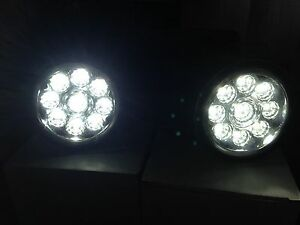 LED Front Fog Lights DRL LAMPS | Compatible With Land Rover Discovery 4 09-2016
