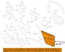 Cadillac GM OEM 00-03 DeVille-Door Interior Trim Panel Right 12483302