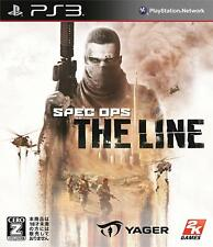 Used Sony PS3 Japan Spec Ops The Line from Japan PlayStation 3