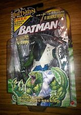 KILLER CROC VARIANT WITH COMIC BOOK! Mattel Batman 2003! DC! RARE!!