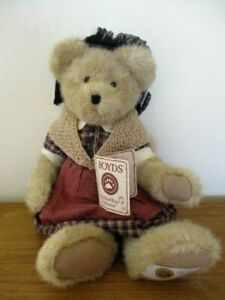 Boyds Bears Exclusive Civil War Edition Mrs Dixon Teddy Bear - new with tag