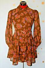 70s vintage   Lobe Japanese cute mini dress