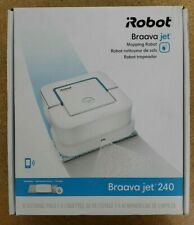 iRobot Braava jet 240 App Controlled Robot Mop - White *For Parts Not Working*