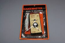 X664 GAUGEMASTER Train Model W walkabout 12V DC N OOinput 14 16V output 0 12V DC