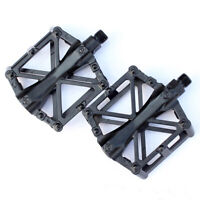 Bike Pedals Mountain Road Bicycle Flat Platform MTB Cycling Aluminum Alloy 9/16""