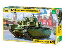 T-35 - WW II SOVIET SUPER HEAVY TANK  #3667 1/35 ZVEZDA