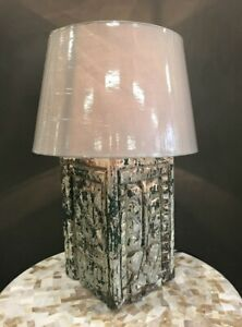 NEW Indian column , now a Table lamp