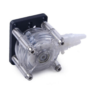 Large Flow Dosing Pump Peristaltic Head For Vacuum Aquarium Lab Analytical 12V