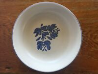 "Vintage Pfaltzgraff Yorktowne Stoneware Vegetable Serving Bowl 8 3/4"" Blue"