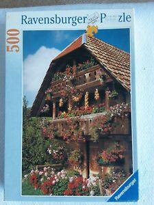 Ravensburger Swiss Loft 500 piece jigsaw puzzle used