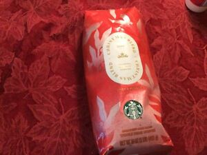 Starbucks CHRISTMAS Blend 2020 Whole Bean Coffee 1 LbBest By Apr 10 2021