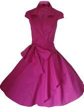 Vestiti da donna rosa con Scollo a V Taglia 42