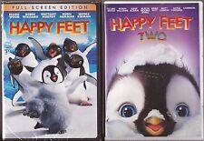 Happy Feet: 1 & 2 - DVD 2-Movie Pack BRAND NEW
