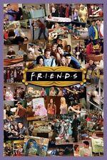 Friends Montage POSTER 61x91cm NEW * Rachel Monica Phoebe Joey Chandler Ross