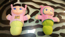 Glow Worm Vintage Lot of 2 Light Up And Music Decent Condition Working
