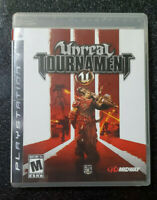 Unreal Tournament III (PS3, 2007) Complete CIB With Manual