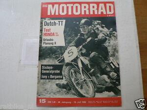 MOTORRAD 1966-15 SAMMY MILLER TRIUMPH,MOHR BULTACO,HONDA CB450,DUTCH TT ASSEN