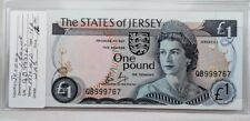 Set of 4 Jersey 1 pound notes 1976 ND Issue