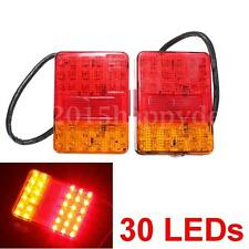 Light 30 LED Luces Piloto Luz faros traseros remolque Caravana Camión HOMOLOGADO