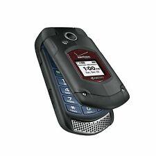 2x Kyocera DuraXv+E4520 Ptt(Verizon)Prepaid Page Plus 3G Rugged Flip Cell Phone