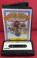 Brian Jacks Superstar Challenge MSX TESTED
