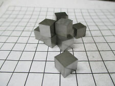 Molybdenum Metal 10mm Cube Mo Element Sample 99.95% Pure - Periodic Table