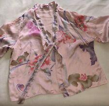 New listing Leonard Silk Pajama Jacket And Pants Set M Vin 00004000 tage