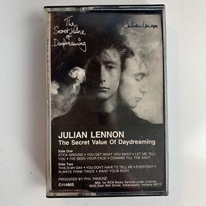 Julian Lennon Secret Value of Daydreaming (Cassette)