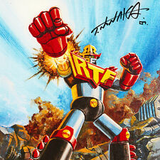 TSUYOSHI NONAKA Signed ART PRINT Robo Toy Fest 2012 POWER RANGERS Mazinger Z NEW