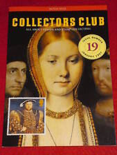 Royal Mail Collectors Club #19 - Henry Viii - Jan 1997