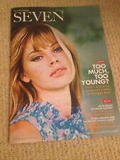 BRITT EKLAND JAMES BOND GIRL SEVEN UK COVER MAGAZINE PAUL MCCARTNEY JOHN LENNON