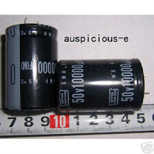 *stock clearance *10000uF/50V +85c NIPPON CHEMI-CON S M H CAPACITOR 2pcs/lot