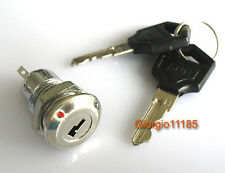 2pcs Key Switch ON/OFF Lock Switch KS-01