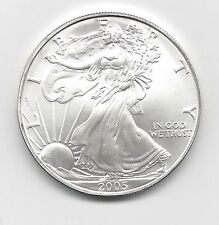 2005 - 1 oz American Silver Eagle Coin - One Troy oz .999 Bullion