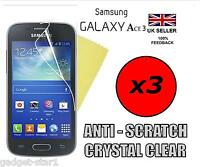 3x HQ CLEAR SCREEN PROTECTOR COVER LCD FILM GUARD FOR SAMSUNG GALAXY ACE 3 S7272