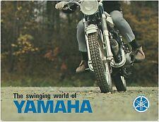YAMAHA Brochure YL1 YL2C U5 YL2 YM1 YM2C YR1 1967 1968 1966 Sales Catalog REPRO