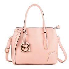 "Pink ""Individuality"" Handbag by Sally Young - Tote - Shoulder Bag"
