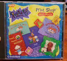 Rugrats Print Shop - PC CD ROM- FREE POST