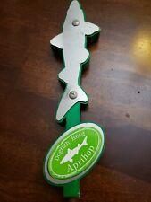 dogfish head aprihop fish beer tap handle