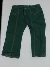 American Girl Doll Ivy Ling Meet Pants Only Retired Green Corduroy 18""