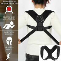 Back Posture Correction Shoulder Corrector Support Brace Belt Therapy Men AC