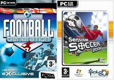 football generation & sensible soccer 2006  new&sealed