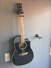 Harley Benton HBD120CEBK + Tonabnehmer Western Gitarre - Sehr Guter Zustand