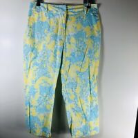 Lilly Pulitzer Animals  Capri Pants - Womans Size 10