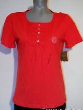 NWT MOUNTAIN LAKE Slim Fit Cotton SHORT SLEEVE TOP S