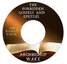 Suppressed Gospels/Forbidden Lost Bible-CD eBook PDF-Kindle-iPhone Compatible